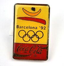 Coca Cola Coke USA Lapel Pin Button Badge Anstecknadel - Barcelona '92