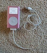 4GB Apple iPod Pink Mini 2nd Generation A1051