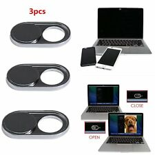 3pcs Webcam Shutter Cover Camera Sticker For Mobile Laptop Tablet iPhone Android