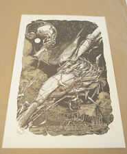 MIDWESTERN HEART AARON HORKEY POSTER PRINT