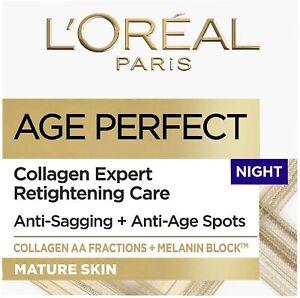 L'Oreal Paris Age Perfect COLLAGEN EXPERT RETIGHTENING CARE NIGHT CREAM 50 ml
