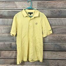 Masters Collection Polo Golf ⛳️  SS Yellow Shirt Mens M Medium