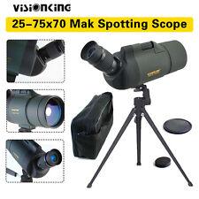 Visionking Super Clear 25-75x70 MAK Spotting Scope Monocular Telescope + Tripod