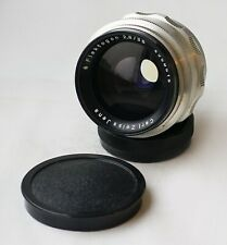 Rare! Early Carl Zeiss Jena FLEKTOGON Silver f/2.8 35mm Lens M42 12-blades
