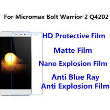 3pcsFor Micromax Bolt Warrior 2 Q4202 High Clear/Nano Explosion Screen Protector