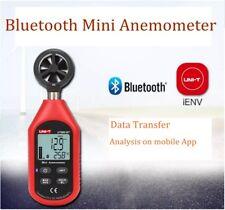 UNI-T UT363BT Wind Speed Meter Digital Bluetooth Pocket Size Anemometer Measurem