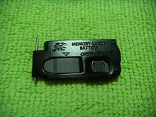 GENUINE PANASONIC DMC-ZS20 TZ30 BATTERY DOOR BLACK PARTS FOR REPAIR