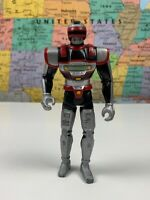 SHIPS SAME DAY VINTAGE 1994 ACTION FIGURE SABAN KENNER TROOPER BLACK SILVER RED