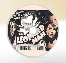 The Leopard Man (1943) DVD Classic Horror Film / Movie Dennis O'Keefe Margo