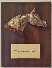 Arabian Horse Head Award Plaque, Trophy, Bust