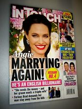 IN TOUCH MAGAZINE SEPTEMBER 3, 2018 Angelina Jolie is Marrying a Billionaire