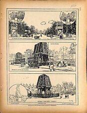 Protection Paris Chevaux de Marly Champs Elysées Statues Tuileries 1917 WWI