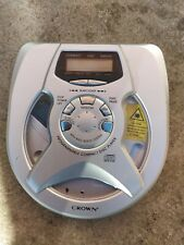 Crown CDN25 Personal Compact CD Player Dorfman Tested Working