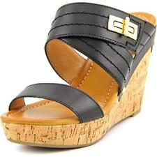 Sandalias con tiras de mujer negro Tommy Hilfiger