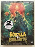 Godzilla VS Biollante + Godzilla VS Mechagodzilla COFF 2 DVD NEUF SOUS BLISTER