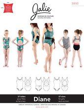 Jalie 3893 Diane Scoopneck Tank Swimsuit Keyhole Back Sewing Pattern Women Girls