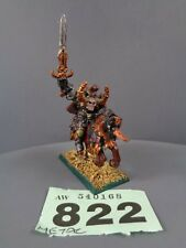 Warhammer Age of Sigmar Warriors of Chaos Metal Lord on Daemonic Steed 822