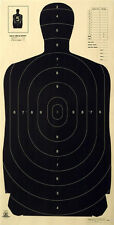 "Official NRA B-27A, B-27 w/Score Rings to the 3 Ring [24"" x 45""] (100 targets)"
