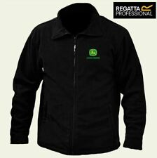JOHN DEERE Regatta Zipper Fleece Jacket Embroidered Logo BEST QUALITY