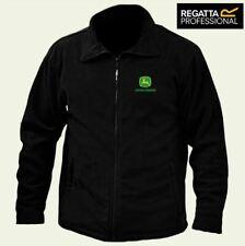 JOHN DEERE Regatta Zipper Fleece Jacket Embroidered Logo BEST QUALITY
