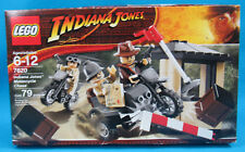 Lego Indiana Jones Motorcycle Chase 7620 79 pcs., NEW IN BOX FACTORY SEALED