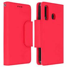 Funda monedero y carcasa extraíble Samsung Galaxy A50 - Rojo