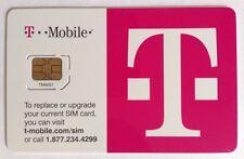 T-Mobile Micro 4G Lte Sim Card Prepaid Postpaid Tmobile