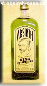 KING OF SPIRITS ABSINTH, 0,7 l-70% vol. - KÖNIGSABSINTH
