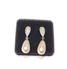 Galaxy Jewellery Swarovski Elements Perlen 925 Sterling Silber Damen-Ohrstecker