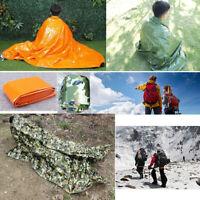 PE Thermal Blanket Sleeping Bag Emergency Tent Mat Waterproof Survival Outdoor