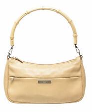 Gucci Handbag Bamboo Clutch Shoulder Bag Purse Leather Handle