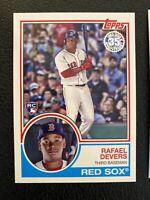 Rafael Devers 2018 Topps Rookie Card Lot (3) Boston Red Sox