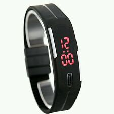 Fashion Sport Watch For Men Women Kid Electronic Led Digital Jelly wristwatch