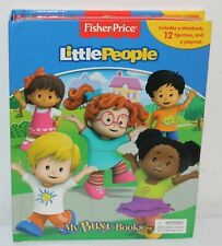Fisher Price Little People My Busy Books Story Figurines Play Mat