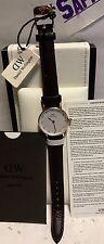 Daniel Wellington Ladies CLASSY BRISTOL 26mm Leather Watch DW00100062 NEW!