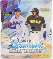 2019 Bowman Chrome Baseball Hobby Box New/Sealed