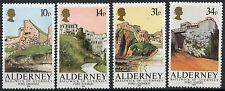 Alderney 1986    28-32  Forten    postris/mnh