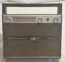 New listing Vintage 1970's Old School Am/Fm Sears Portable 8 Track Tape Player