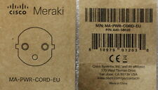 Cisco Meraki MA-PWR-Cord-EU A40-58020 Kabel VDE CE Stromkabel Netzkabel Switches