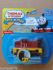 Thomas and Friends Take N Play PIRATE SALTY New Magnet
