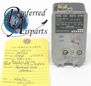 Serviceable KRG-331 Yaw Rate Gyro PN 060-0024-00 Bendix King