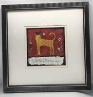 Barbara Olsen Cats Are Better Framed Print 11 X 11