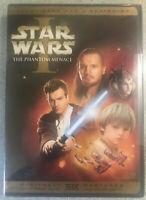 Star Wars Episode I: Phantom Menace NEW/SEALED (DVD, 2005), 2-Disc Set, W/s..
