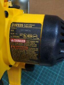 """Dewalt DW935 5-3/8"""" 14.4V Cordless Electric Circular Trim Saw"""