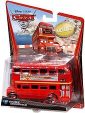 Disney Cars Cars 2 Deluxe Oversized Double Decker Bus Diecast Car #4