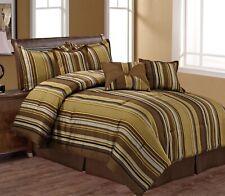 Comforter Set 7pc - Queen - Parker Stripe