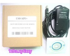 SIEMENS USB-MPI+ S7-300/400 PLC Programmer adapter Cable Flex Ribb    1ZHA&#0306