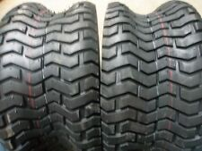 TWO 20/10.00-8 and TWO 15/6.00-6 KUBOTA T1600H Lawnmower/Golf Cart Turf Tires