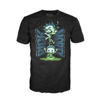 Funko Rick And Morty Portal Tee Shirt NEW T Shirts Men's TV Series Show