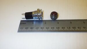 DIALIGHT BASE 26-9408-11-381 1.75 IN. IN LENGTH WITH RED LENS NNB